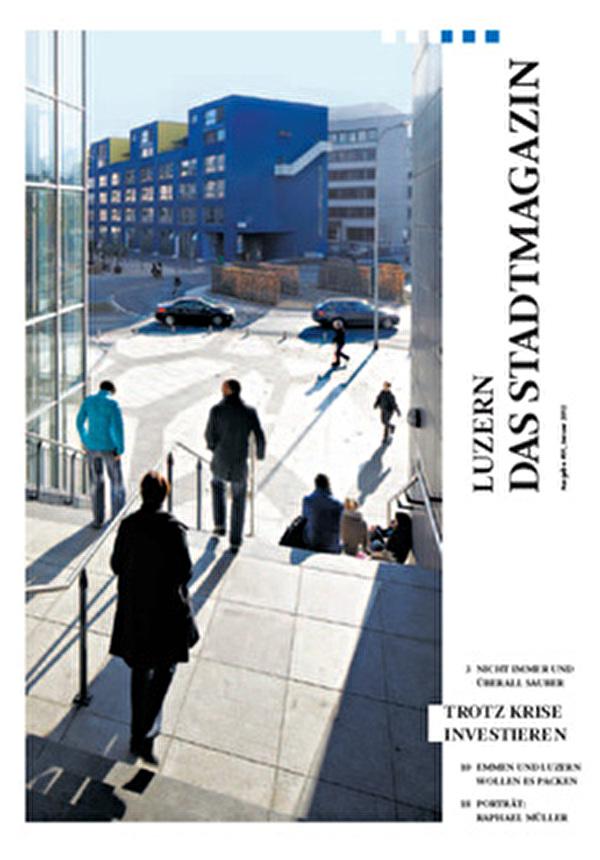 Luzern - Das Stadtmagazin 1/21012