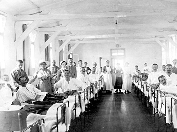 K. k. Kriegsspital Baumgarten bei Wien
