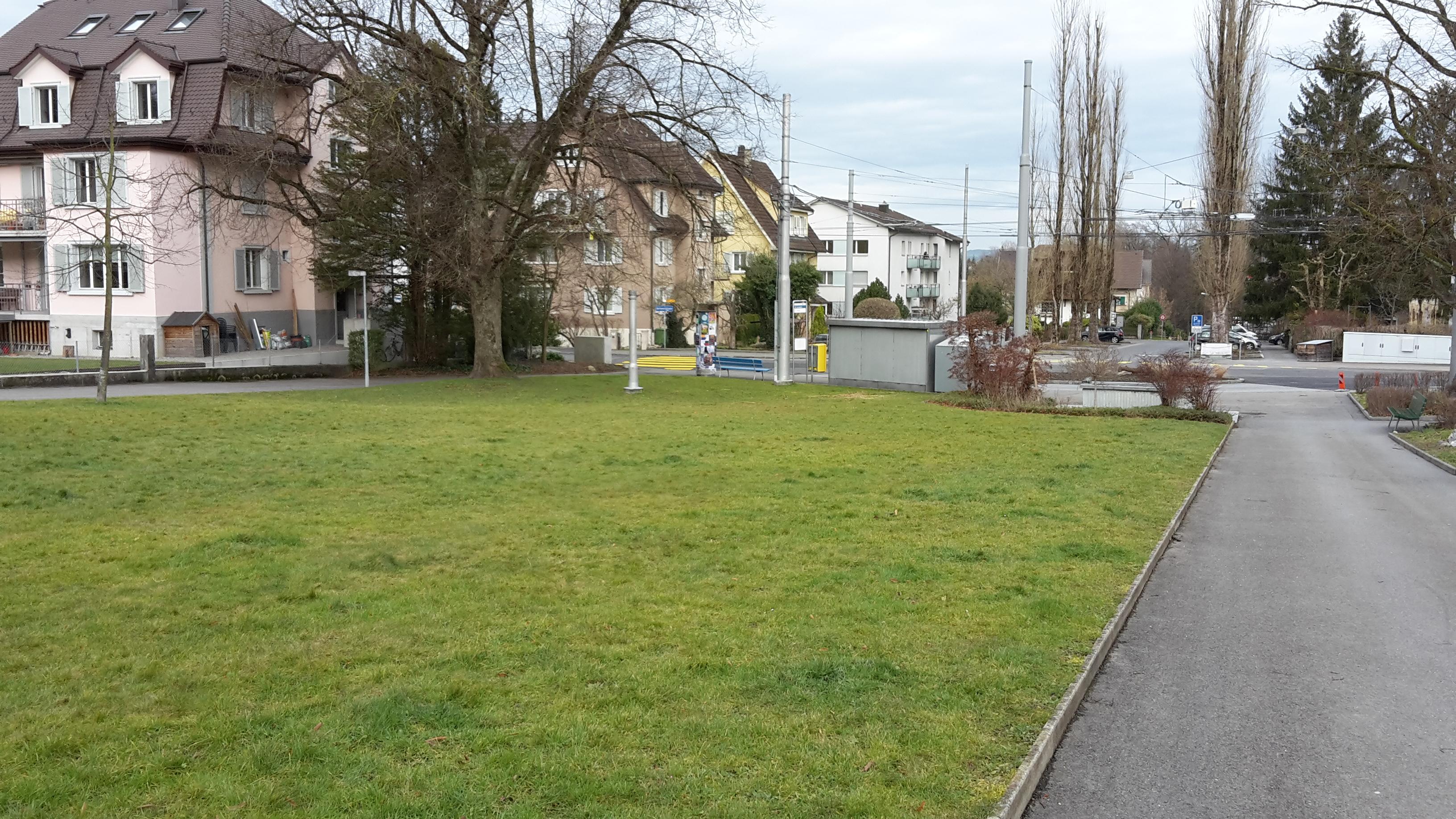 Grünanlage Zwyssigplatz