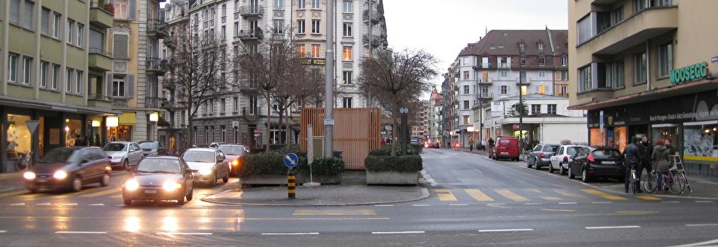 Lufthygienische Messstation Moosstrasse Luzern