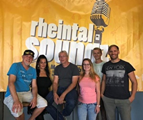 OK rheintal soundz 2018 (von links):