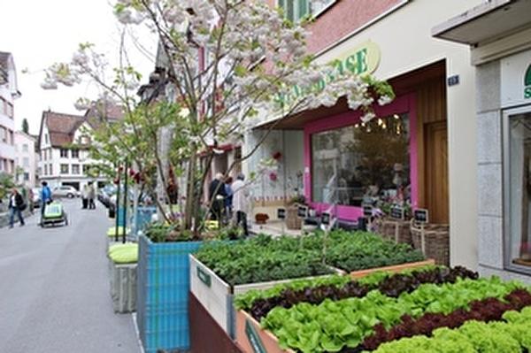 Die Geschäftsinhaber in der Altstadt unternehmen viel, um den Charme des Städtli hervorzuheben