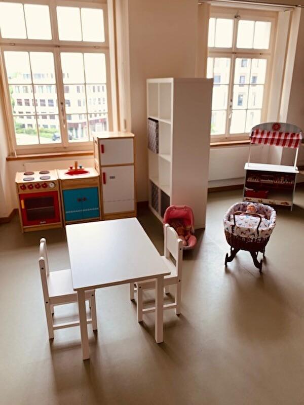Die Kinderräume warten auf viele kleine Nutzer*innen