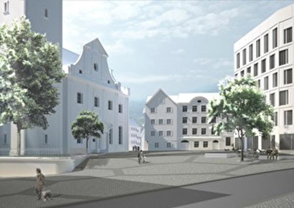 Stadtentwicklungsprojekt Freihof-Rathaus