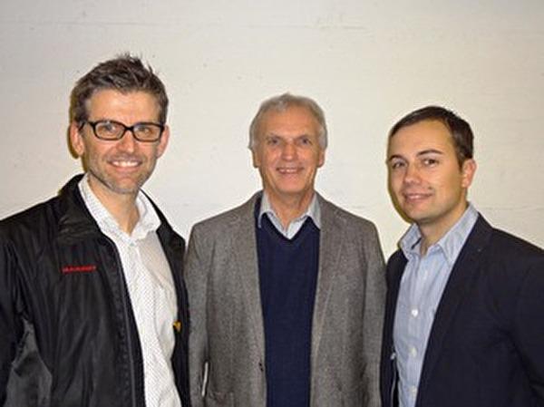 Ruedi Gasser, Ruedi Dörig und Roman Zimmermann