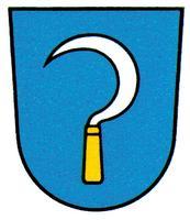 Wappen mit Sichel