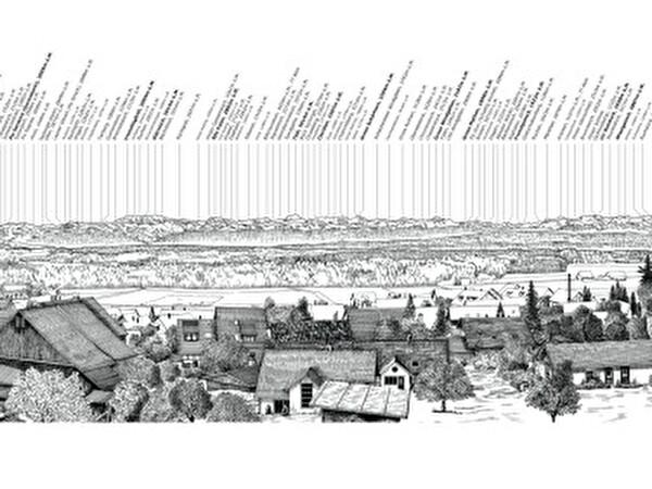 Panoramatafel Brütten