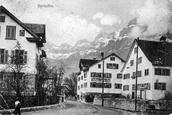 Historisches Bild Berschis