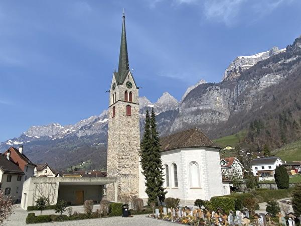 Pfarrkirche St. Luzius und Florin