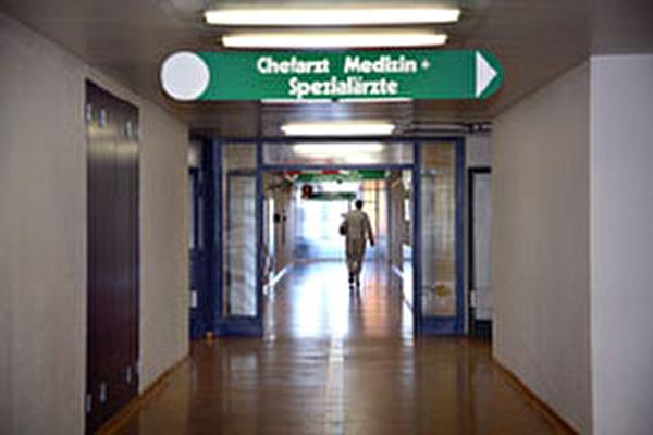 Flur im Krankenhaus