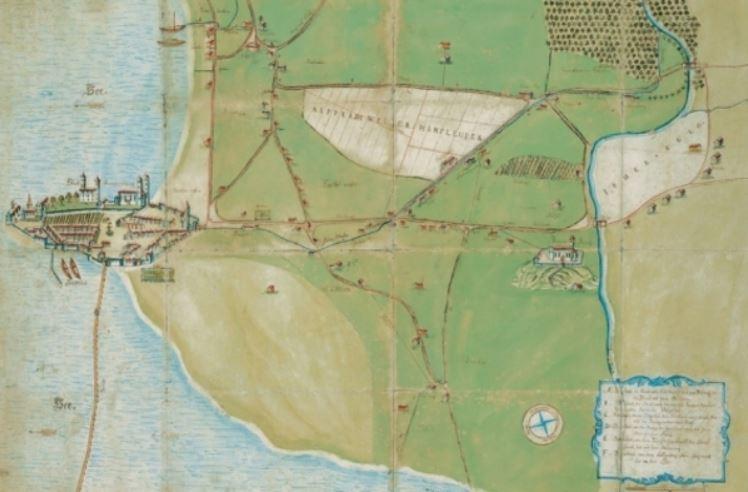 Karte von Rapperswil und Jona aus dem Jahr1804