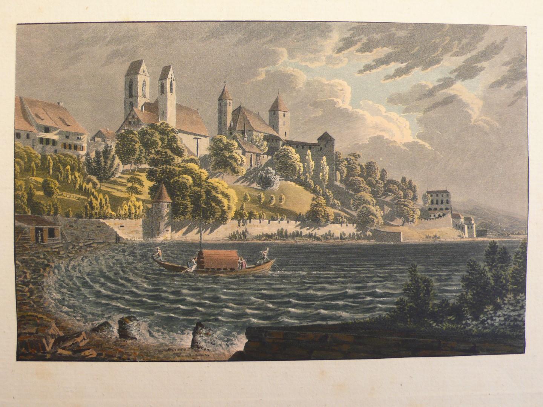 Schlosshalde Rapperschweil Meinrad Kälin 1825