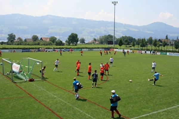 Fussballer in Aktion (Foto: city-cup.ch)