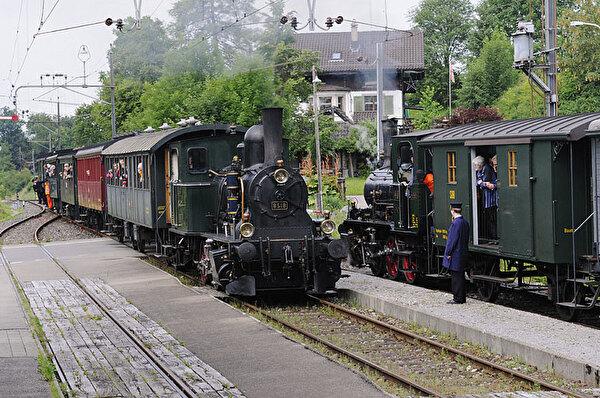 Dampfbahn in Bäretswil