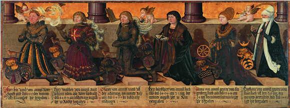 Epitaph - Die Edlen von Andwil