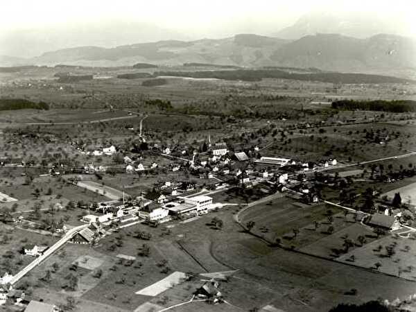 Ballwil im Jahr 1954