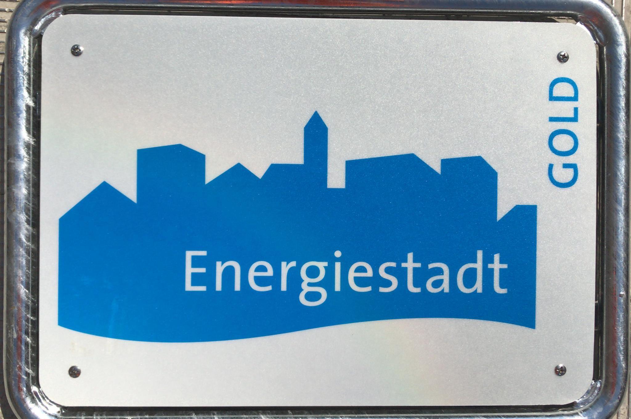 Energiestadt-Tafel