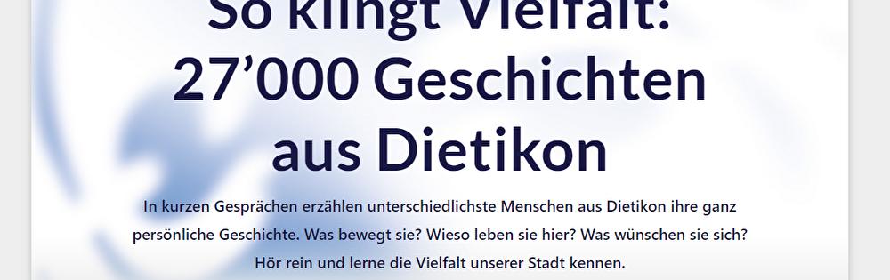 Kulturdietikon Homepage