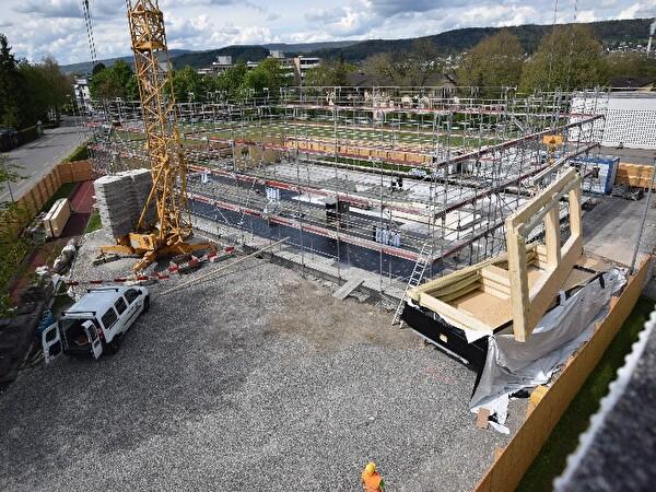 Neubau Schulpavillon Steinmürli