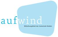 Logo des Mitteilungsblattes aufwind der Gemeinde Heiden