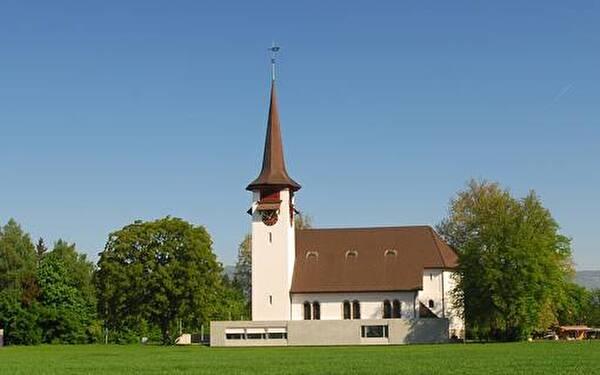 2007 renovierte ev.-ref. Thomaskirche Biberist-Gerlafingen
