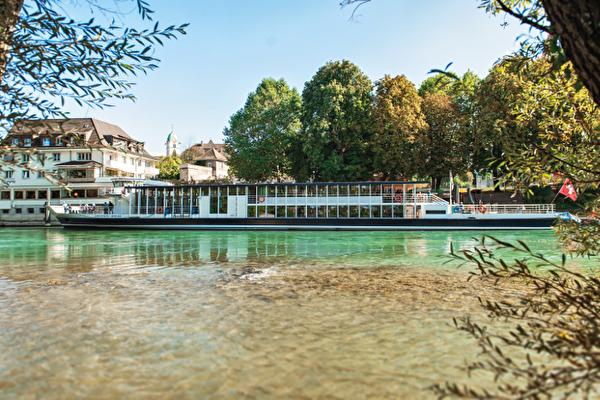 Boat trip from Basel to Rheinfelden