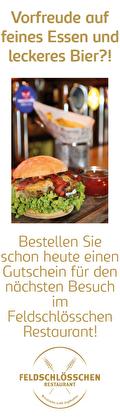 Gutschein Feldschlösschen Restaurant bestellen
