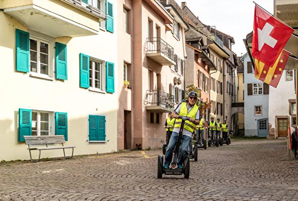 Segwaytour, Altstadt