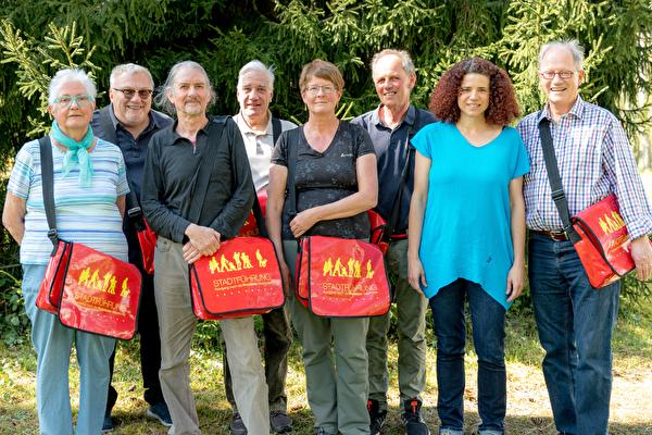 Die Stadtführer und Stadtführerinnen von Rheinfelden