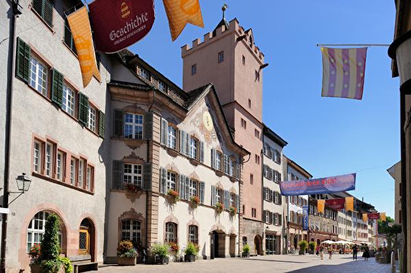 Rathaus, Altstadt Rheinfelden, Marktgasse