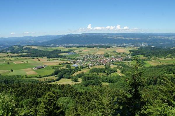 Blick auf Schwarzwald