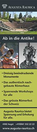 Augusta Raurica, Römerhaus, Museum, Gruppenaktivitäten, Römerfest, Ab in die Antike