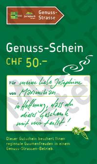 Genuss-Schein CHF 50.-
