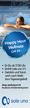 sole uno Happy Hour Wellness Fr. 39.-