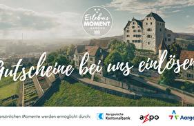 Erlebnismoment Gutschein von Aargau Tourismus bei uns einlösen