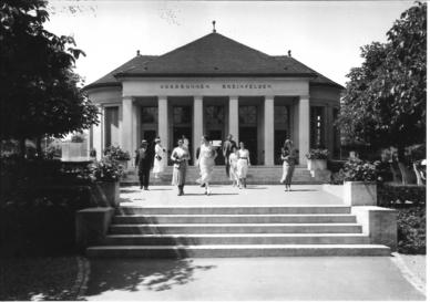 Kurbrunnen um 1900