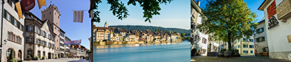 The old town of Rheinfelden