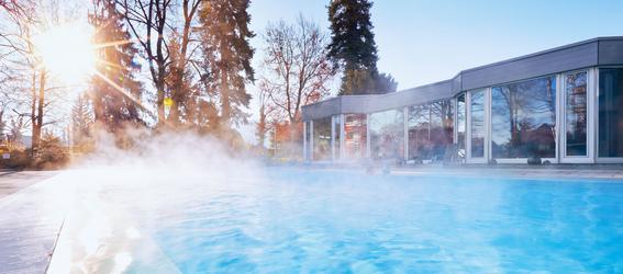 L'eau saline EDEN de l'hôtel EDEN im Park