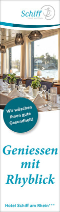 Hotel Schiff am Rhein, Wir wünschen Ihnen gute Gesundheit