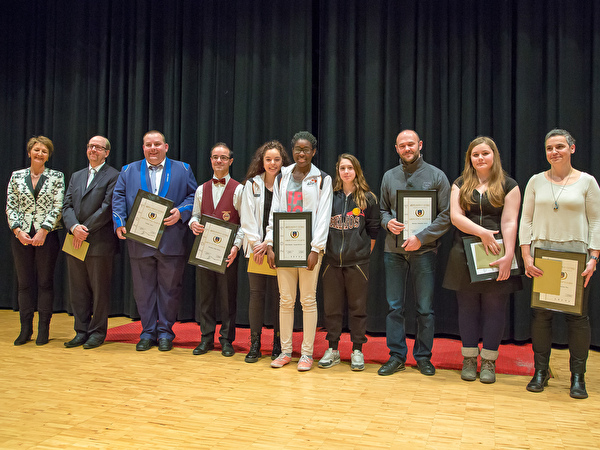 Mérites sportifs et culturels 2014