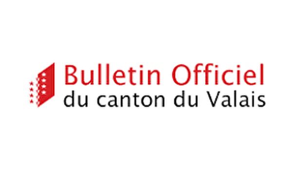 Bulletin officiel du canton du Valais