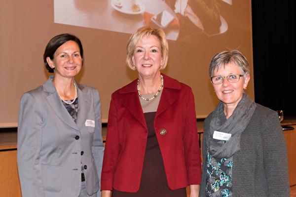 v.l. Monika Scherrer, Monika Ribar, Erika Schiltknecht