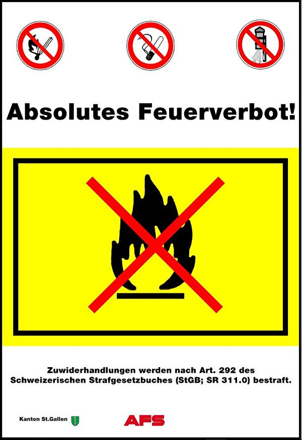 absolutes Feuerverbot