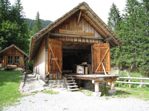 Säge Schwarzwaldalp