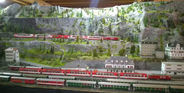Modellbahn Meiringen