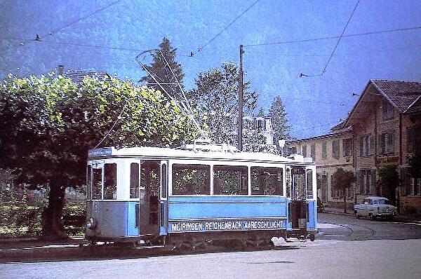 Trambahn 1955