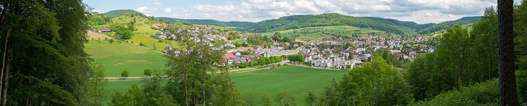Gemeinde Magden im Panorama