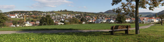 Bild: Dorfansicht vom Hofackerhof