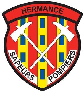 Ecusson des pompiers d'Hermance