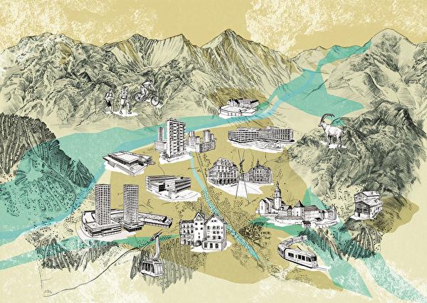 Perlenkarte Stadtentwicklungskonzept 2050